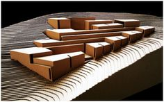 Imagen Wood Architecture, Urban Planning, Architectural Models, Lake View, Design, Architecture Diagrams, Blue Prints, Timber Architecture, Architecture Models
