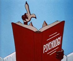 looney tunes psychology gif