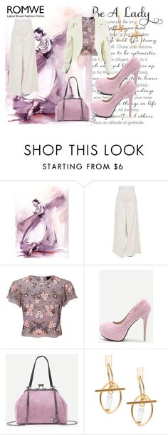 """Romwe 7"" by dinka1-749 ❤ liked on Polyvore featuring WALL, Marni and Needle & Thread"