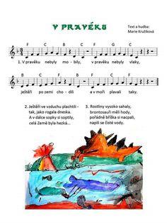 Pravěk Kids Songs, Kindergarten, Education, School, Notes, Facebook, Historia, Astronomy, Studying