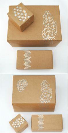 Hand Drawn Gift Wrap