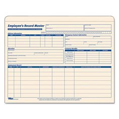 Shop for TOPS Employee Record Master File Jacket Document 9 x 11 10 Point Manila (Box of Get free delivery On EVERYTHING* Overstock - Your Online Paper, Forms & Envelopes Destination!