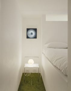 Apartement Home Bedroom Among White Bed Also Nightstand Decorated With Imposing Decorative Wall Lamp Interior Color Theme in Loft Interior for Creative Mind
