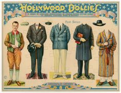 75.2382: Hollywood Dollies: Reginald Denny | paper doll | Paper Dolls | Dolls | National Museum of Play Online Collections | The Strong