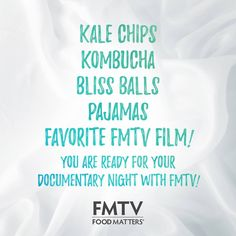 Check this list off and you are ready for your documentary night with FMTV!  https://www.fmtv.com/join-today