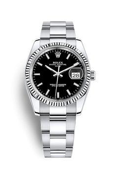 online store c0e91 a4d1d Reloj Rolex Date 34  Rolesor blanco - combinación de acero 904L y oro blanco  de