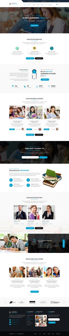 Easyedu - Multiple Education PSD Template #teaching #template #training • Download ➝ https://themeforest.net/item/easyedu-multiple-education-psd-template/19163212?ref=pxcr