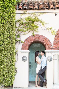 Worth Avenue Engagement | Crystal Bolin Photography
