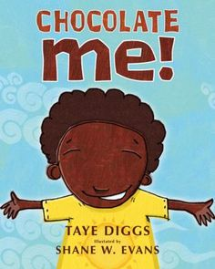 Chocolate me! Livre d'image, disponible en anglais.