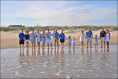 clothing colors.    Family Beach Photo Ideas - August T Photography