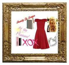 """""""At the Museum!"""" by ladybugsandcats ❤ liked on Polyvore featuring Esme Winter, Phase Eight, MAC Cosmetics and GALA"""