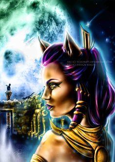 Bastet, egyptian god (Term 4)