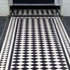 London Mosaic - Victorian Path Tiles