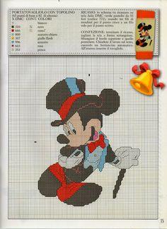 ♥Meus Gráficos De Ponto Cruz♥: Turma do Mickey em Festa de Gala-Disney Ponto Cruz