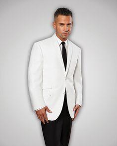 White Situation Tuxedo Prom, Wedding, Tip Top Tux