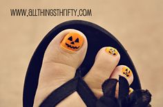 All Things Thrifty Home Accessories and Decor: Halloween Nail Designs, All Things Girlie!