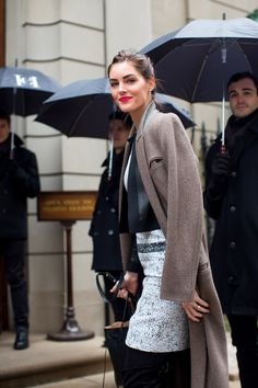 So Cool It Hurts: New York Fashion Week Fall 2016 Street Style - Hilary Rhoda