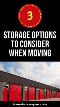 Are you going to be moving? Do you have storage needs? See 3 different methods of storage reviewed in-depth including all the pros and cons at Maximum Real Estate Exposure. Real Estate Articles, Real Estate Information, Real Estate Tips, Storage Rental, Self Storage, Content Marketing, Internet Marketing, Estate Homes, Real Estate Marketing