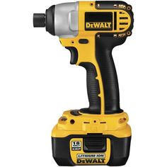 The DeWalt Lithium Ion 18v Impact Driver is probably our most used driver. It's light-weight and compact with enough torque to drive most screws and bolts. The lithium Ion battery weighs a fraction of the standard 18v battery and lasts forever!  A recommended toy for the toolbox of any DIYer or home improvement professional. - Total Residential Services