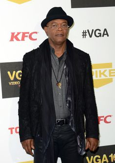 Samuel L. Jackson arrives at Spike TV's 10th annual Video Game Awards at Sony Pictures Studios on December 7, 2012 in Culver City, California.
