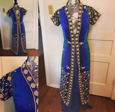 Jacket made of repurposed sari fabric by Cookie DuBois of Cookie DuBois Clothing Sari Fabric, Sewing Clothes, Sewing Ideas, Repurposed, Upcycle, Cookie, Kimono Top, Clothing, How To Make