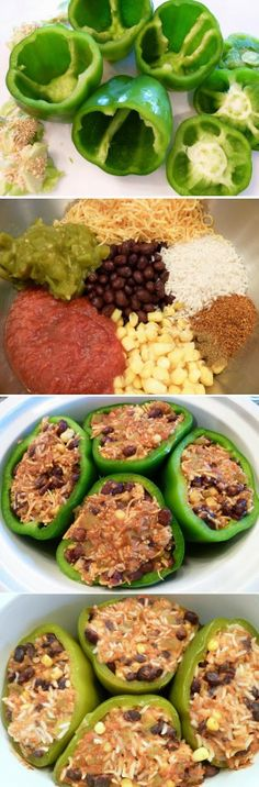 Exclusive Foods: Cooker Southwestern Stuffed Peppers