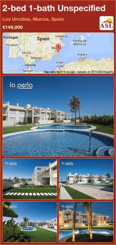 Semi-detached House for Sale in Los Urrutias, Murcia, Spain with 3 bedrooms, 2 bathrooms - A Spanish Life Apartments For Sale, Semi Detached, Detached House, Valencia, Portugal, Murcia Spain, Marine Reserves, Nature Reserve, Cartagena