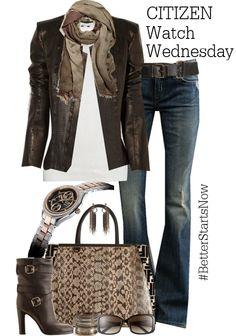 Weekday style that makes you feel like the weekend. #BetterStartsNow #WatchWednesday