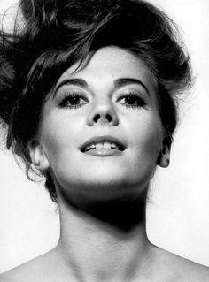 Natalie Wood for Vogue by Bert Stern (1964) via Pinterest