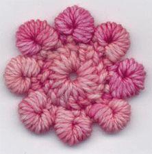 Bullion Picot Flower Pattern by Suzann