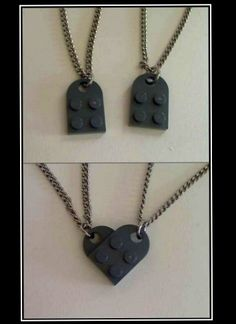Nerd friendship necklace