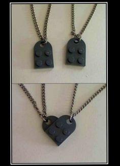 Nerd friendship necklace