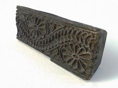 Indian Wooden Print Block / Stamp Fabric by FrenchVintageTextile, €24.00