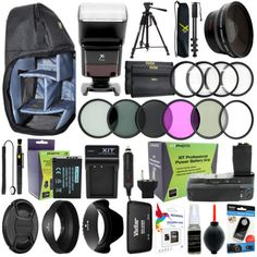 15 Best Canon Everything You Need Accessory Kit From Sobetronic