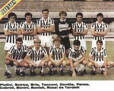 La vecchia signora del calcio. la JUVE, 1983.