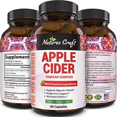 Natures Craft Apple Cider Vinegar Pills For Weight Loss ACV Capsules Extra Strength Fat Burner Natural Supplement Pure Detox Cleanse Appetite Suppressant Immune Booster for Women and Men 60 caps Buy Now Apple Cider Vinegar Supplements, Apple Cider Vinegar Capsules, Apple Cider Vinegar Pills, Green Tea For Weight Loss, Weight Loss Tea, Lose Weight, Metabolism Booster Supplements, Detox Cleanse For Weight Loss, Cleanse Detox