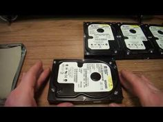 How to recover data from a hard drive (stuck heads: buzzing, clicking, etc) - YouTube