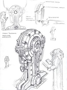 data keeper by TugoDoomER on deviantART Zoids, Mode Cyberpunk, Game Props, Futuristic Art, Environment Concept Art, Environmental Art, Dieselpunk, Drawing Reference, Game Art