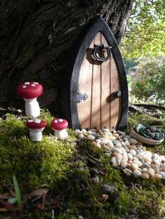Faerie doors Fairy Doors Gnome Doors Elf Doors 55 by NothinButWood, $12.00