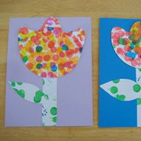 Spring Art for Toddlers | 36 Simple Spring Crafts for Kids