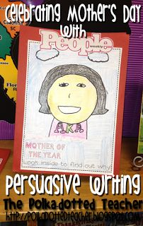 """Mother/Father of the Year Magazine Cover""  Students will enjoy designing magazine covers featuring their parents for Mother's Day or Father's Day.  Inside their magazine, they can write an article describing why their parents deserve this special recognition.  These magazine covers would make a fun idea for a Mother's or Father's Day bulletin board display."