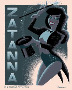 Batman The Animated Series: Episode 54 'Zatanna' - George Caltsoudas