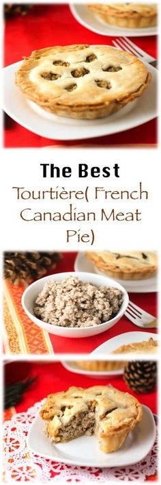 French Canadian Meat Pie.