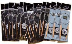 "U-nitt 24"" inch premium Bamboo Circular Knitting Needles sz 1-15 >>> Click image to review more details."