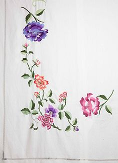 ILINKA Collection Hand Embroidered Tablecloth