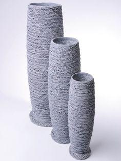 Amaris Elements 3er Set Deko Vasen Baumwolle kaufen im borono Online Shop