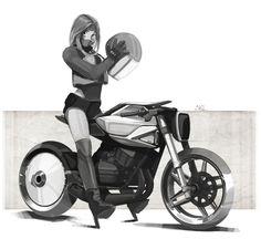 https://www.behance.net/gallery/41066793/Motorcycle-Sketches-VolI