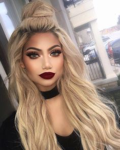 72.8 тыс. отметок «Нравится», 513 комментариев — ALINA (@makeupbyalinna) в Instagram: «Even though I've cut my hair super short, my @bellamihair extensions still blend so well I wear…»