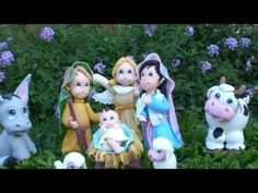 Pesebre de Navidad - Porcelana Fria paso a paso - YouTube