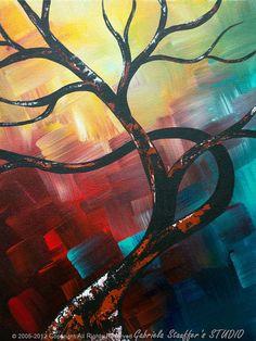Bienvenido a nuestro estudio -------------------- ¡Pintado a mano moderna pintura abstracta Original por Gabriela y Catalin! ---------------------------------------------------------------------------- Esta obra se ofrece como una orden de Comisión. Trabajos a medida tendrá 4
